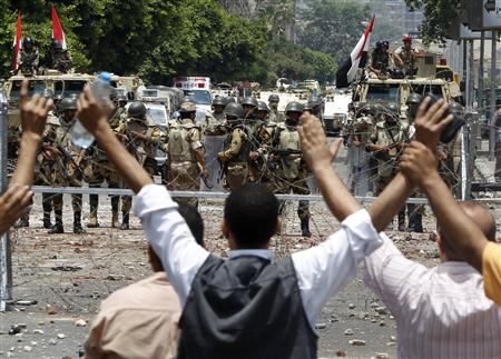 Euro-Med Monitor Condemns the Killing of Tens of Egyptian Protesters in Cairo